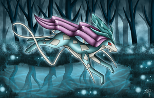 Suicune by Myklor