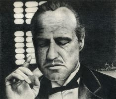The Godfather by DannyLovesArt