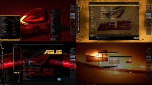ASUS ROG Desktop Theme for Windows 7 by ionstorm01
