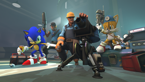 :SFM: Sonic and Team BLU by Hyperchaotix