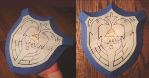 WW Mirror Shield by Christinabean