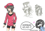 Kiri 10,110 by drawwithme15