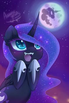 Nightmare Moon revenge by MagnaLuna