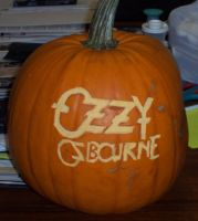 Ozzy Pumpkin by Ozzyhelter