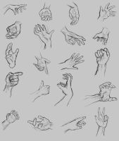 20 Hands by SugaryAshes