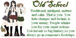 I'm Old School by KatieGirlsForever