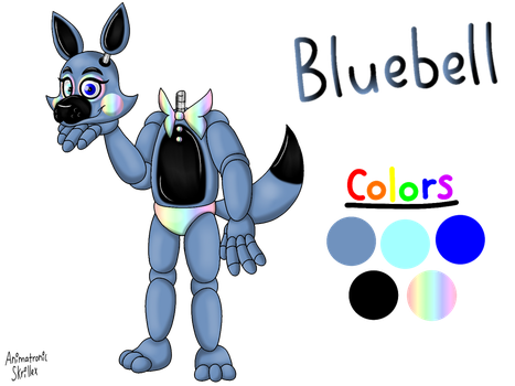 Five Nights At Freddy's OC-Bluebell! by Animatronic-Skrillex