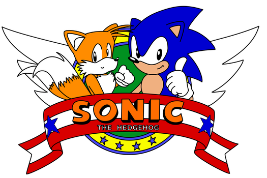 Sonic The Hedgehog 2 Title Logo by A-Scream