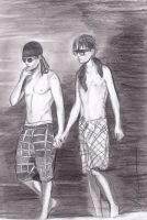 Twins Kaulitz Maldives by angelteva