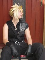 Dreaming of... - Cloud Strife by FuriaeTheGoddess