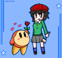 Waddle dee X Adeline by DIA-TLOA