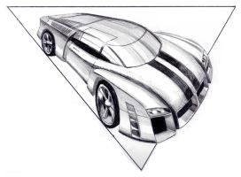 Sportscar W. Pencil by SergiosG