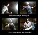 The anonymous businessman by Simba83