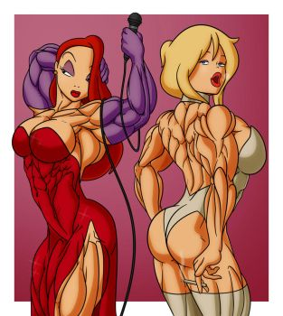 Jessica Rabbit and Holli Would - Color by rssam000