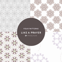 Like a Prayer - Tiling pattern by aaskie