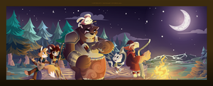 True Tail: Night Time Heros by SkynamicStudios