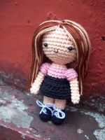 Amigurumi Girl7 by oddSpaceball