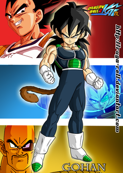 Evil Gohan by ruga-rell