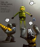 Master Chief attack by Orkimede