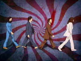 The Beatles by birdmach