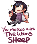 You messed with the wrong sheep by Sinomis