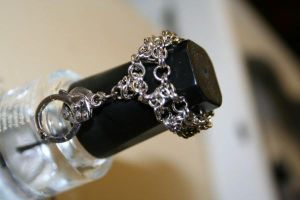 chain mail ring by PiercedHobo