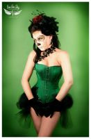 Day of the Dead girl in Green by vivavanstory