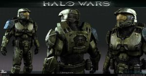 Halo Wars: Spartans by republic190