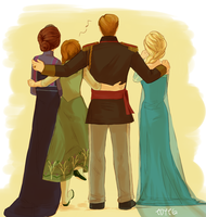 Frozen Family by TDYTG