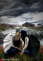 Our angelic love by Ioneek