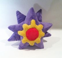 Starmie Plush by SewnRiver