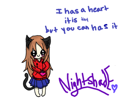 I has a tiny heart but you can has it by theultimatefailure
