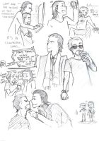 TonyLoki Sketches by blargberries