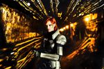 Commander Jane Shepard by ormeli