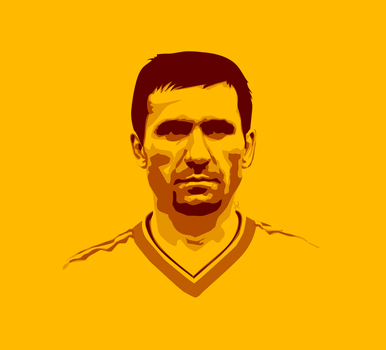 Gheorghe Hagi Vector by TheNDR