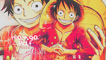 luffy banner by Melondia