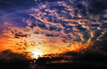 S T O C K ~ Sunset Clouds Sky Stock by AStoKo