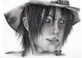 Realistic Portgas D. Ace by MoonSnake12