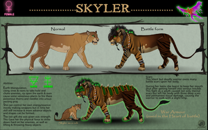 Skyler the Achidar by RecklessJack