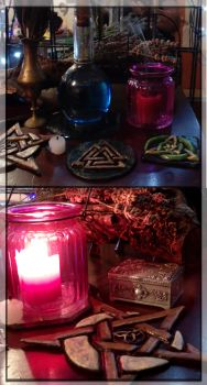 Altar Tiles by AnnEnchanted
