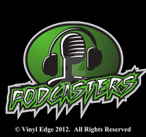 Podcasters T-shirt Geek Sports Design by Pegbeard