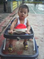 Zy Zy on his walker by gromyko
