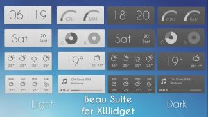 Beau Suite for xwidget by jimking