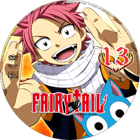 Fairy Tail DVD - 13 by Fan-Art-Otaku