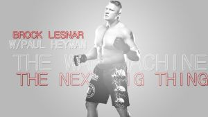 Brock Lesnar - Simple Wallpaper by MarcusMarcel