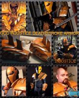GCC Deathstroke Injustice Armor by Cadmus130