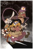 Wario and Waluigi by Themrock