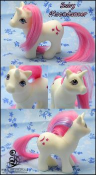 Custom Restore: Baby Moondancer by SD-DreamCrystal