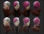 [Practice Texturing] Vi from League of Legends by YuliusKrisna