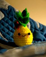 Crochet pineapple by aikochan11